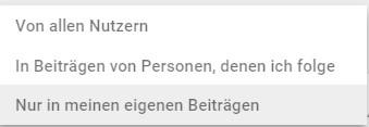 Suchfunktion auf Google+ [5 von 7] by Clemens Lotze - Suchfunktion in Google+: Google verbessert sie