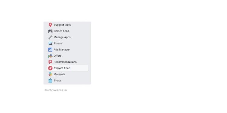 Entdecker-Feed in der Seitenleiste von Facebook - Facebook Newsfeed: Er steht unter Druck