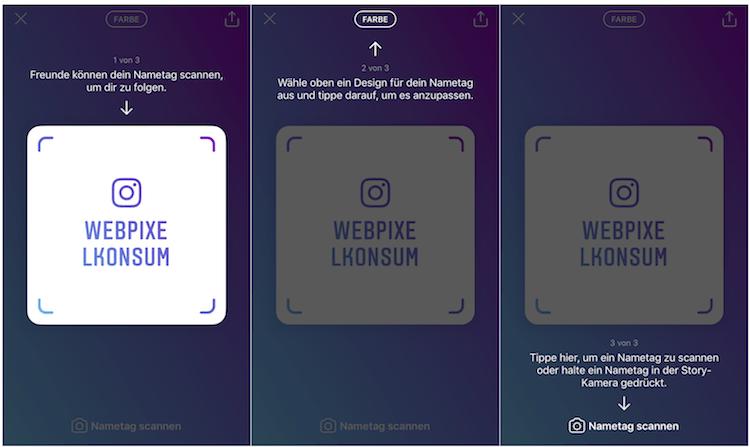 Schritte zum Erstellen eines Instagram Nametag für ein Instagram-Business-Account - Instagram Nametags: Die Bedeutung und seine Erstellung